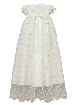 Baby girls ivory jessica gown