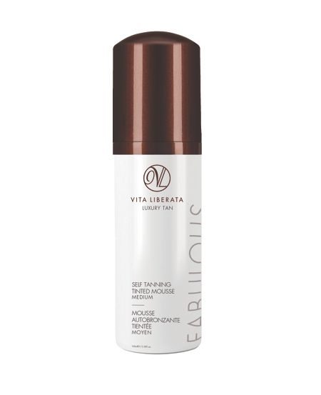 Vita Liberata Fabulous Self Tanning Tinted Mousse Medium 100ml