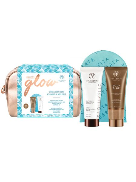 Vita Liberata Vita Liberata Fabulous Glow Luxury Tan Kit -Dark
