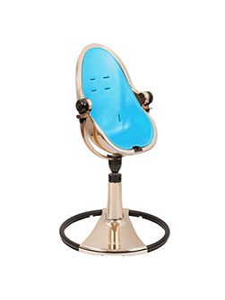 Fresco Chrome Bermuda Blue High Chair