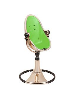 Fresco Chrome Gala Green High Chair
