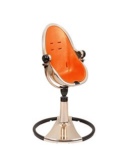 Fresco Chrome Harvest Orange High Chair