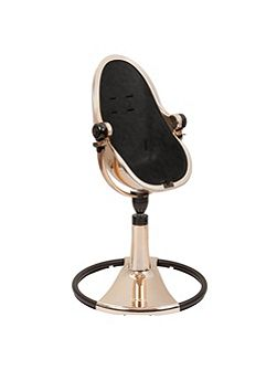 Fresco Chrome Snakeskin Black High Chair