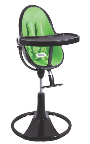 Bloom Fresco Chrome Gala Green High Chair