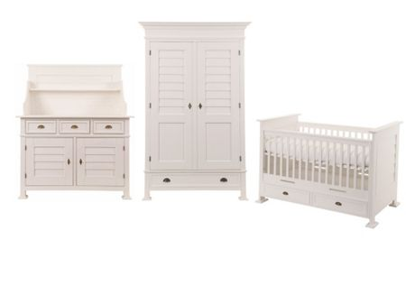 Kidsmill Bateau 3 Piece Nursery Furniture Set