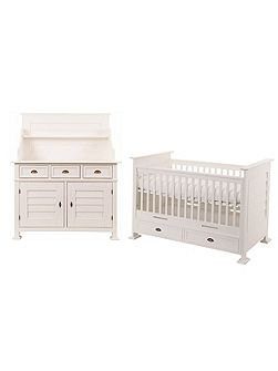 Bateau 2 Piece Nursery Furniture Set