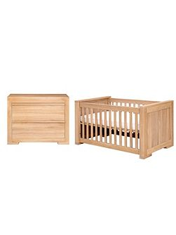Bretagne 2 Piece Nursery Furniture Set