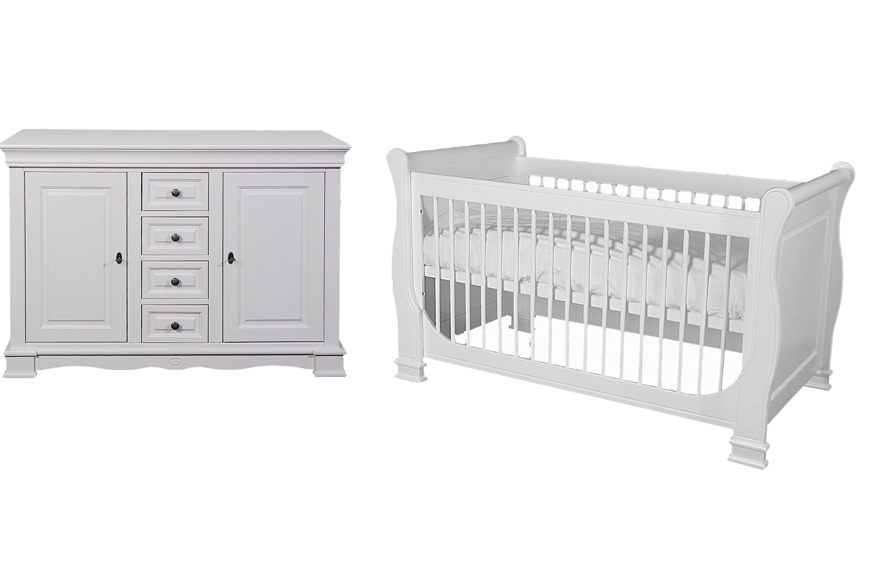 Kidsmill Louise de Philippe 2 Piece Nursery Furniture Set