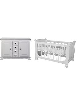 Louise de Philippe 2 Piece Nursery Furniture Set