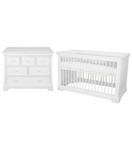Kidsmill Marseille 2 Piece Nursery Furniture Set