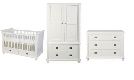 Kidsmill Shakery 3 Piece Nursery Furniture Set