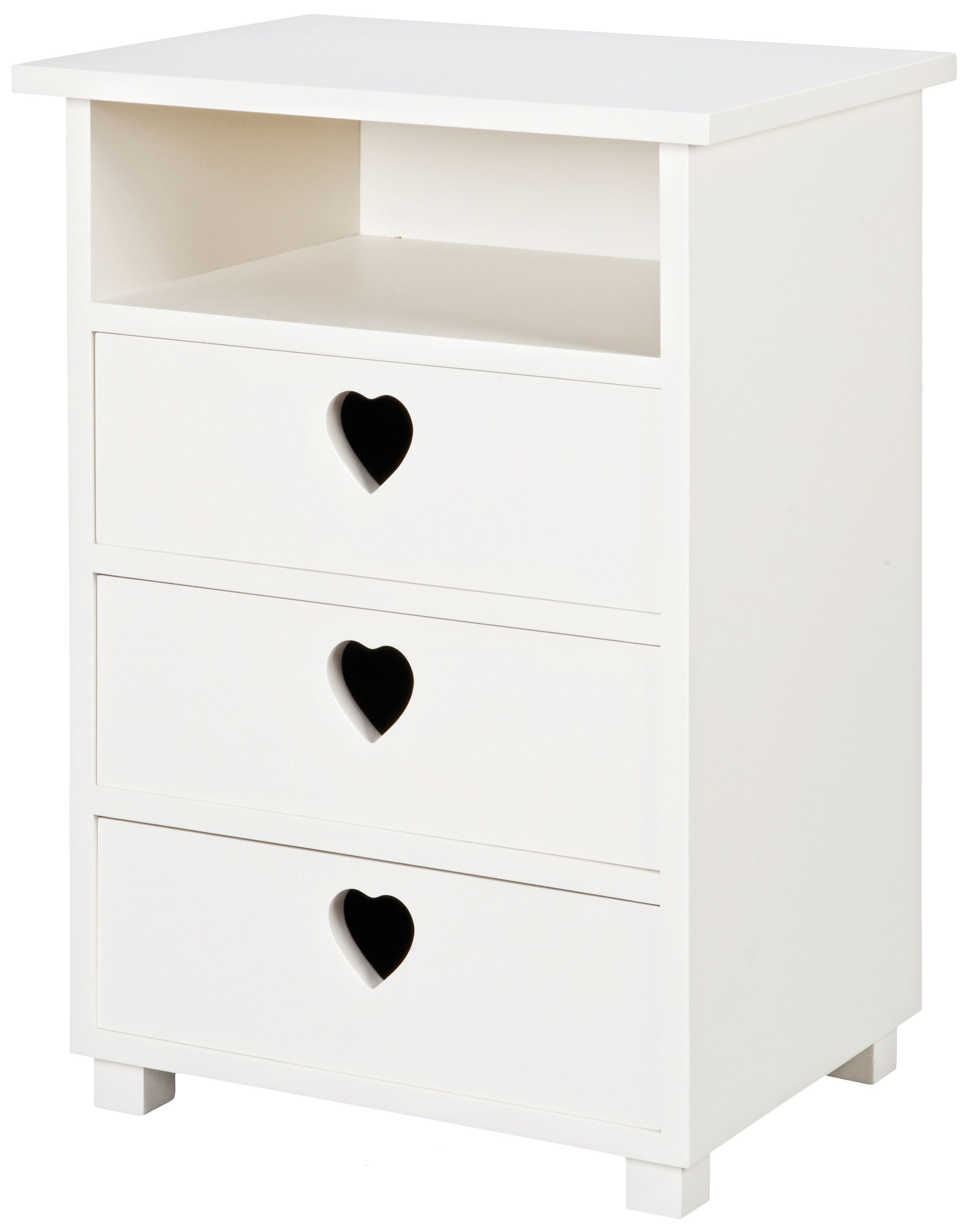Heart Bedside Table