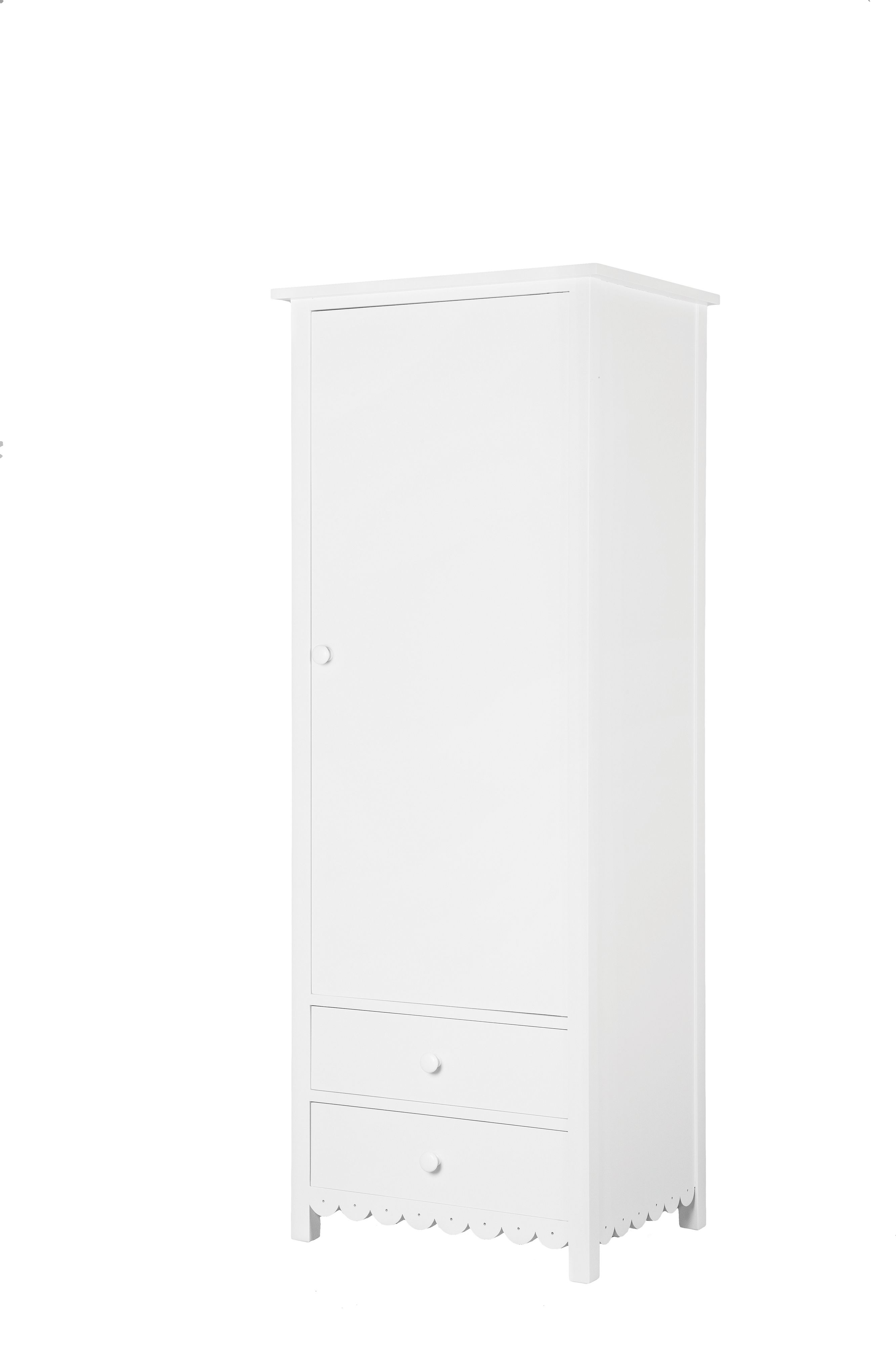 Petite One Door Wardrobe