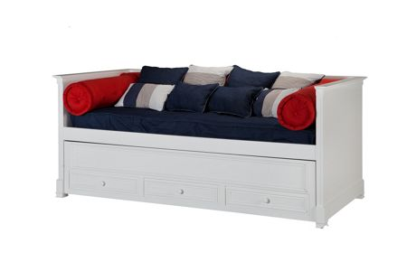 Adorable Tots Caprice Day Bed with Pull out Trundle
