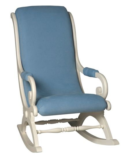Adorable Tots Classic Rocking Chair White