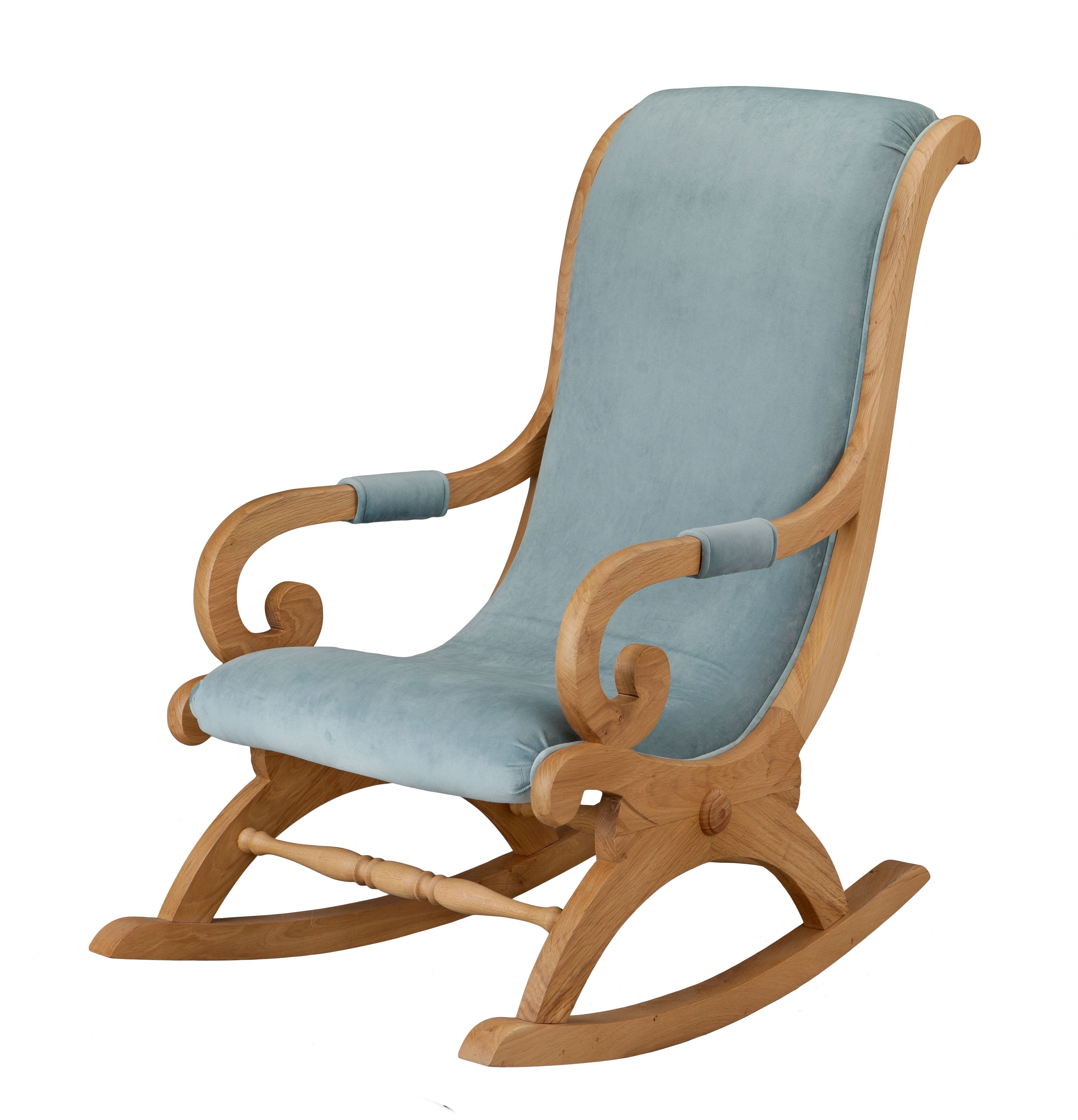 Classic Rocking Chair Oak