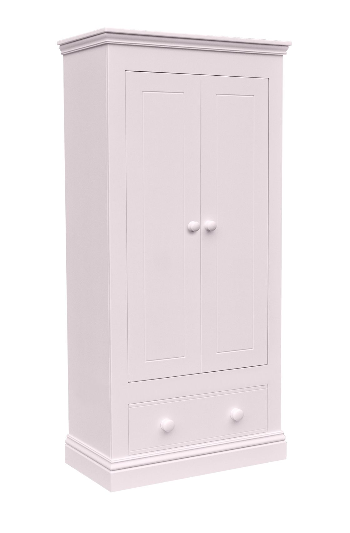 New Hampton 2 Door Wardrobe with 1 Drawer