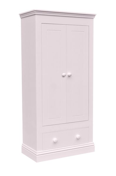 Adorable Tots New Hampton 2 Door Wardrobe with 1 Drawer
