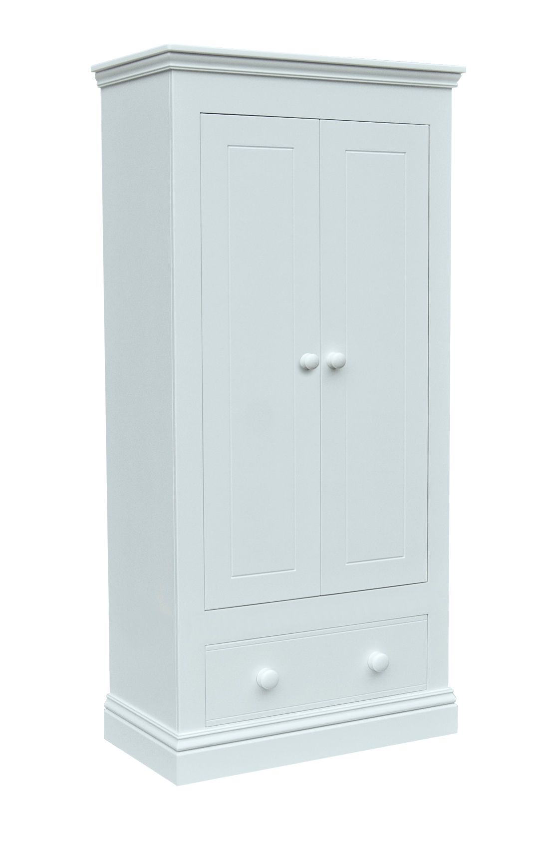 Image of Adorable Tots New Hampton 2 Door Wardrobe with 1 Drawer