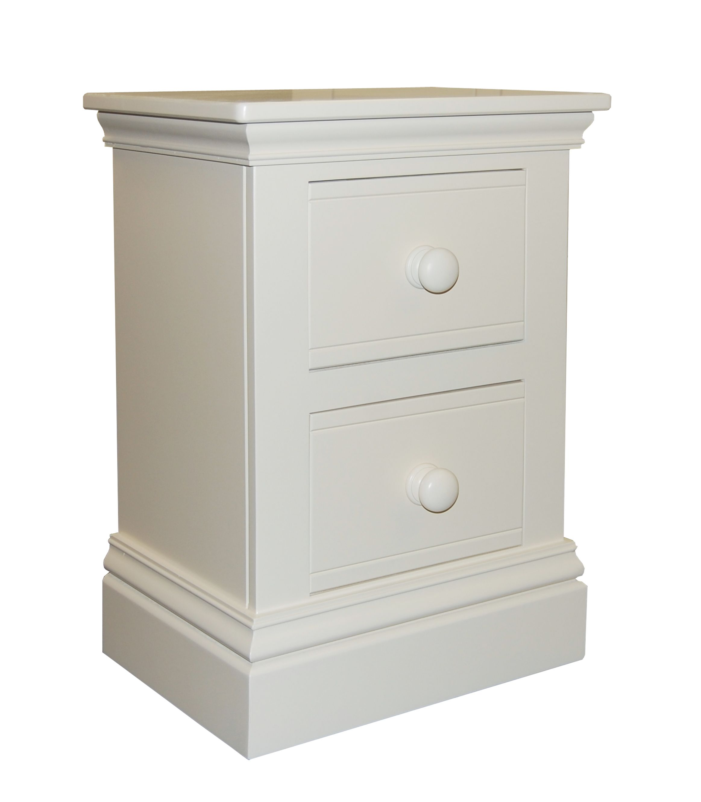 New Hampton 2 Drawer Bedside Table