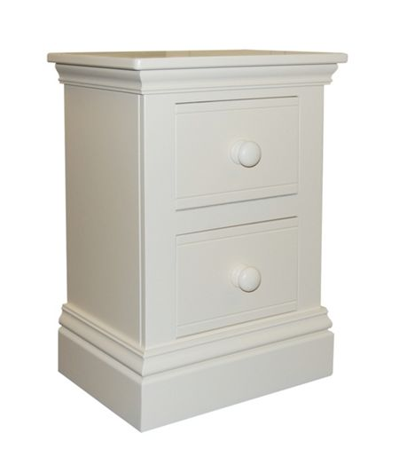 Adorable Tots New Hampton 2 Drawer Bedside Table