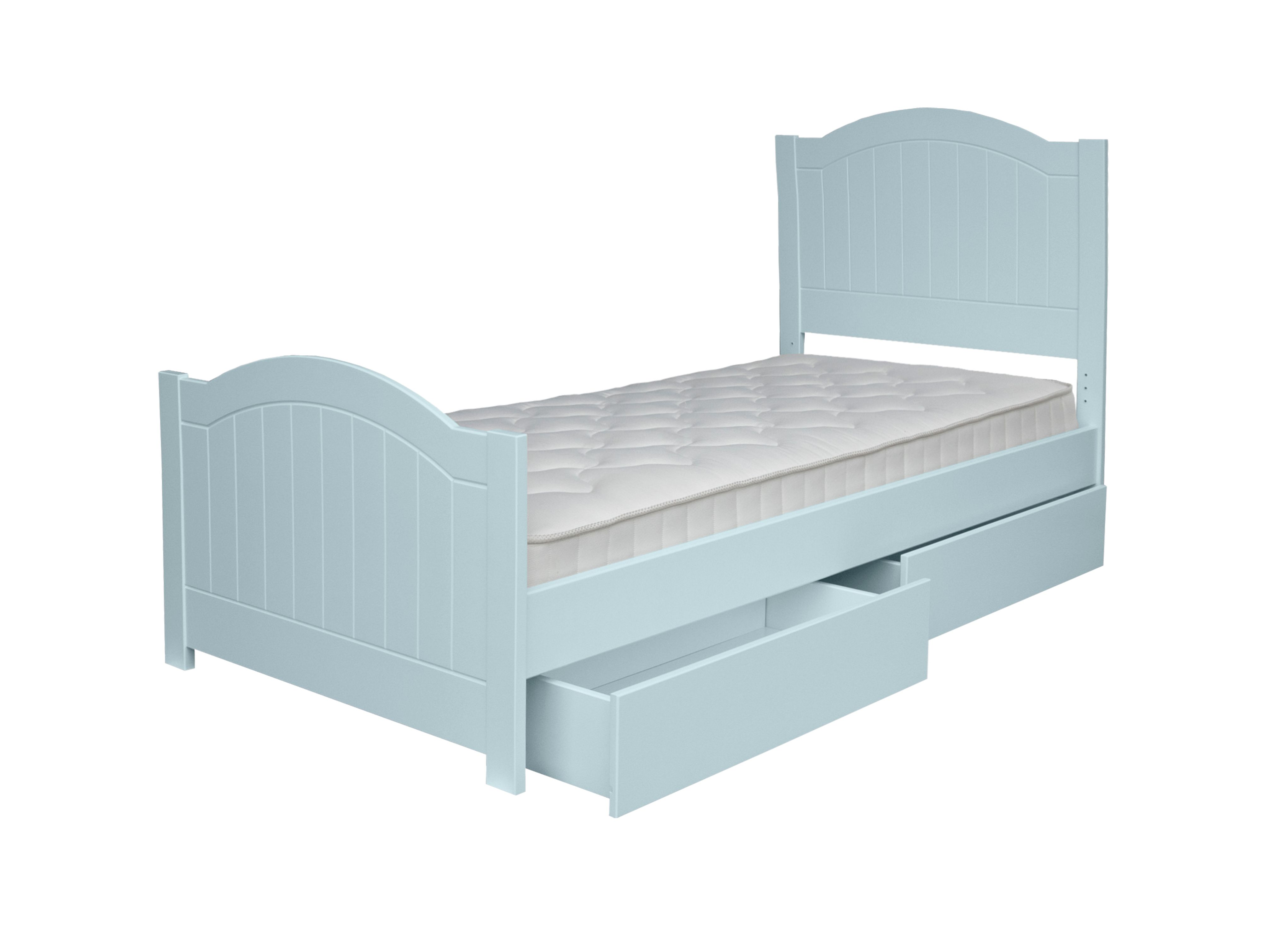 Adorable Tots Adorable Tots New Hampton Grooved Single Bed