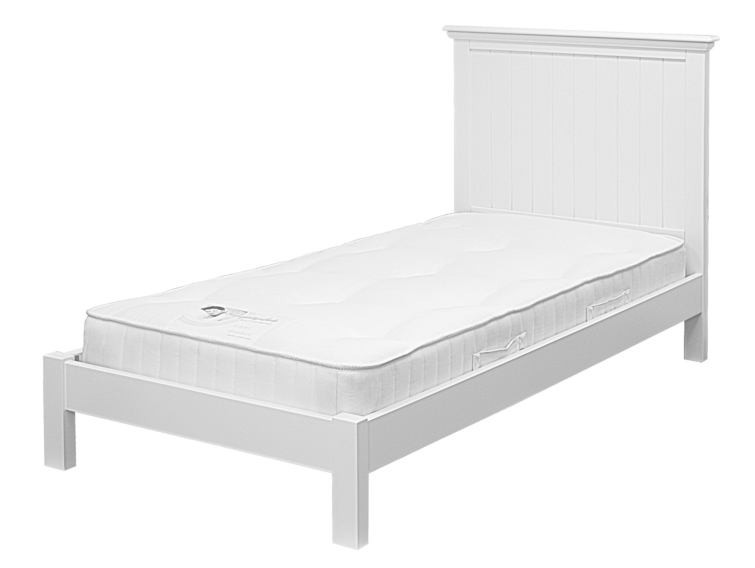 New Hampton Low Foot End Grooved Single Bed