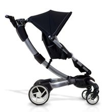 4Moms Origami Pushchair with Silver Seat Liner