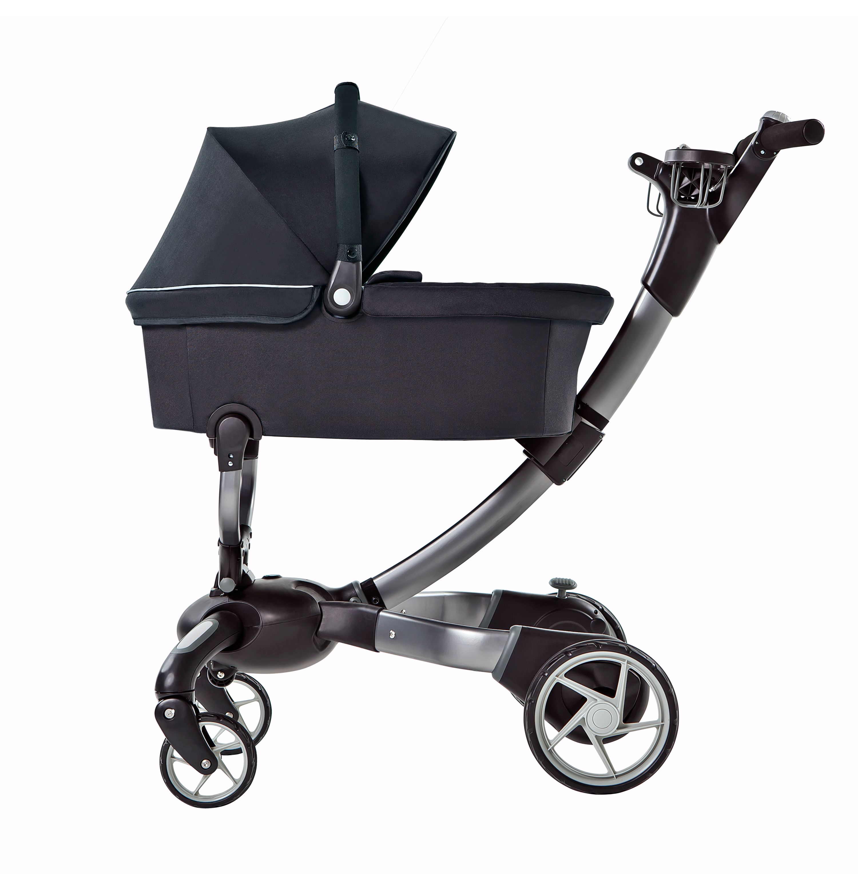 4Moms 4Moms Origami Pushchair Package with Silver Seat Liner