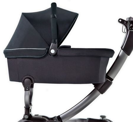 4Moms Origami Pushchair Package with Silver Seat Liner