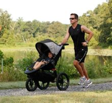 Baby Jogger Summit X3 Single Black