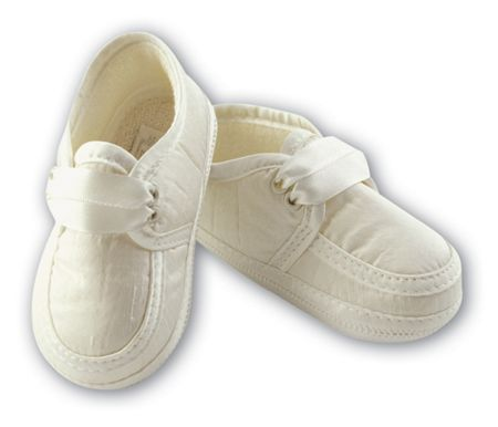 Sarah Louise Boys satin shoes