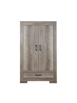 Lodge Wardrobe 2 Doors / 1 Drawer