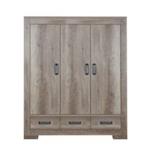 Kidsmill Lodge Wardrobe 3 Doors by Kidsmill