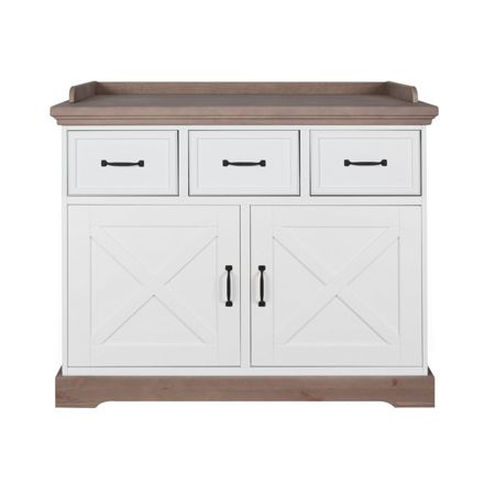 Kidsmill Savona White/Grey Chest (with cross)