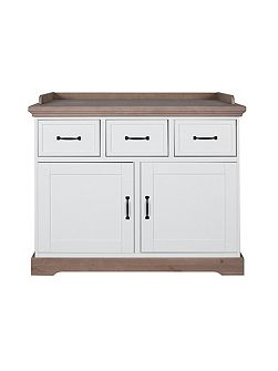 Savona White/Grey Chest without cross