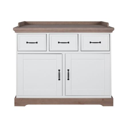 Kidsmill Savona White/Grey Chest without cross