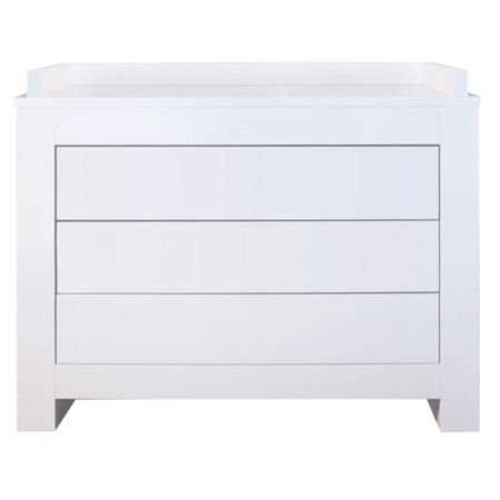 Kidsmill Somero White Mat Chest by Kidsmill