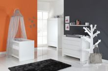 Somero White Mat Wardrobe 3 Doors