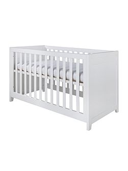 Balade White Cot bed 70 x 140