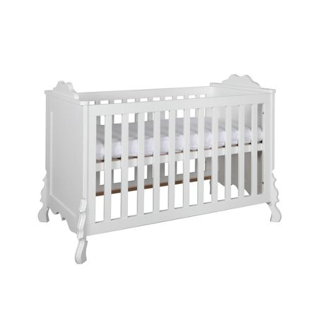 Kidsmill Chalk White Cot bed 70 x 140