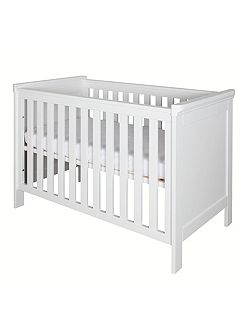 Savona White Cot 60 x 120 without cross