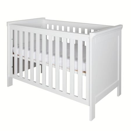 Kidsmill Savona White Cot 60 x 120 without cross