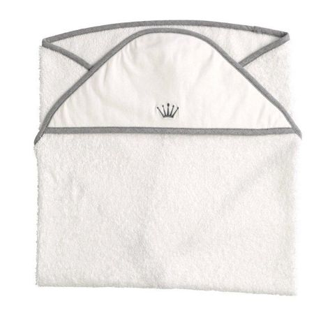 First Endless Grey Hooded Towel