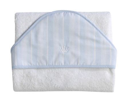 First Forever Blue Hooded Towel