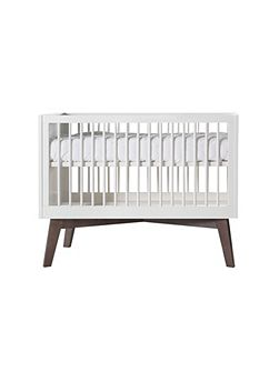 Sixties White Matt Cot