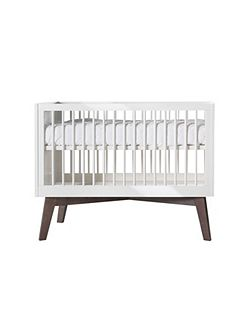 Sixties White Gloss Cot
