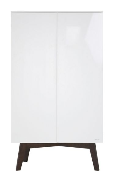 Kidsmill Sixties White Gloss Wardrobe