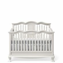 Romina Cleopatra Cotbed to Double Bed White