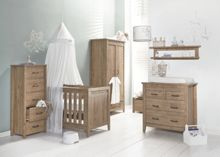 Babystyle Chateaux Oak Nursery Furniture Set